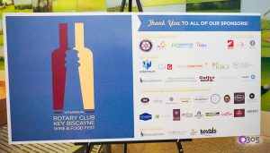 The 12th Annual Key Rotary Wine and Food Fest poster